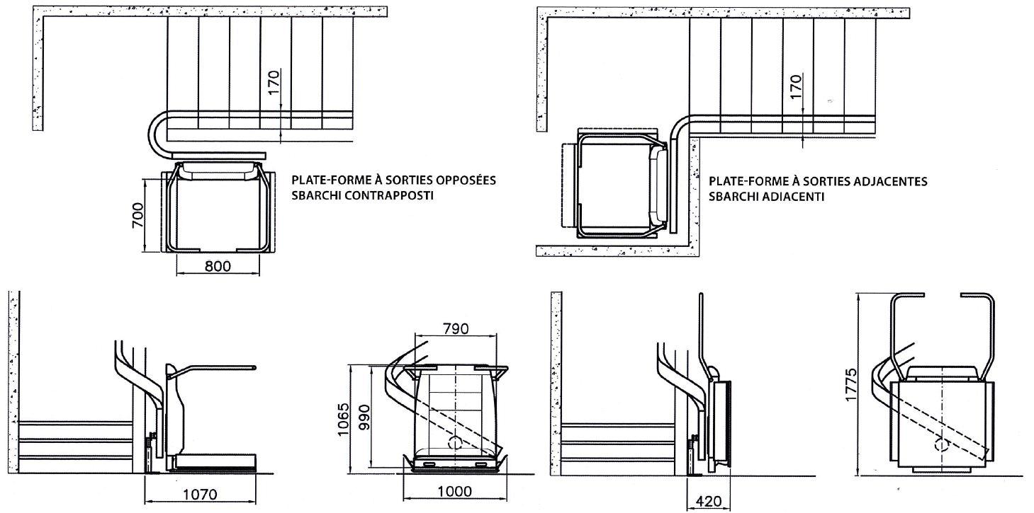 schema monte escalier. Black Bedroom Furniture Sets. Home Design Ideas